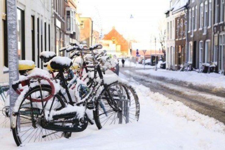 12432880-fila-de-bicicletas-en-la-nieve-en-holanda-s-groningen