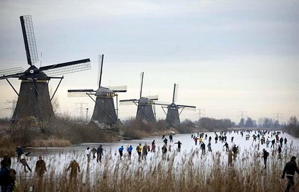 holland-kinderdijk