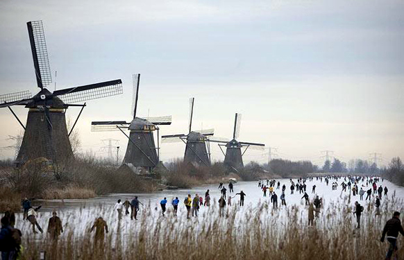 holland-kinderdijk